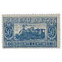 Réseau d'état cinquante centimes