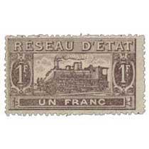 Réseau d'état un franc