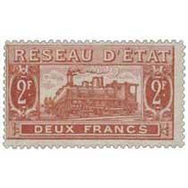 Réseau d'état deux francs