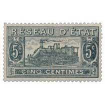 Réseau d'état cinq centimes