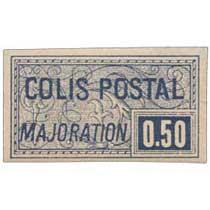 COLIS POSTAL MAJORATION