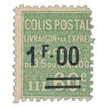 COLIS POSTAL LIVRAISON PAR EXPRES d'un colis de 3,5 ou 10 kilos