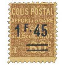 COLIS POSTAL Apport à la gare d'un colis de 3,5 ou 10 kilog.