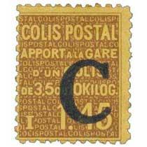 COLIS POSTAL Apport à la gare d'un colis de 3,5 à 10 KILOG