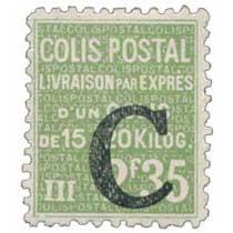 COLIS POSTAL LIVRAISON PAR EXPRES d'un colis de 15 ou 20 kilog