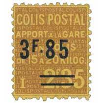 COLIS POSTAL Apport à la gare d'un colis de 15 à 20 kilos