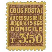 COLIS POSTAL AU DESSUS DE 10 JUSQU'À 15 KGS DOMICILE