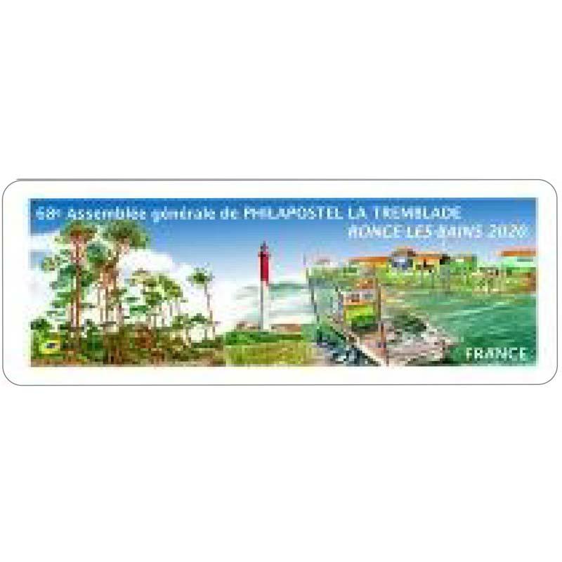 2020 LISA 68e ASSEMBLEE GENERALE DE PHILAPOSTEL  LA TREMBLADE RONCE LES BAINS