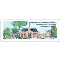 2021 LISA 94e congrès de la Fédération Française des Associations Philatéliques VALENCIENNES 2021
