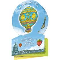 2013 Le timbre fête l'air - L'histoire des montgolfières et ballons de 1783 à nos jours