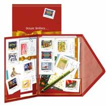 2013 Collector douze timbres et mille raisons d'écrire !