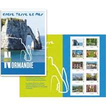 2016 Haute Normandie - Entre terre et mer - Lettre verte