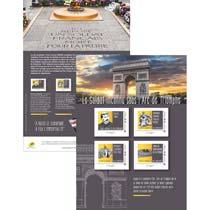 2017 Le soldat inconnu sous l'Arc de Triomphe