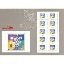 2018 Election du timbre 2017