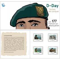 2019 D-Day United, we conquer - les 177 Français qui débarquèrent