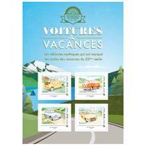 2020 Voitures & Vacances - Fiat 500 – Volkswagen VW Combi T 1 – Panhard PL 17 – Renault 16
