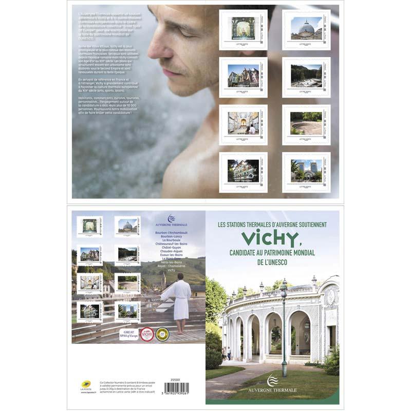 2021 Les stations d'Auvergne soutiennent Vichy, candidate au patrimoine de l'UNESCO