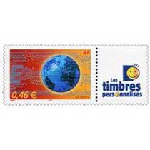 Les timbres personnalisés
