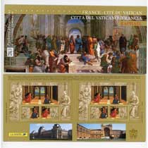 POCHETTE 2005 émission commune FRANCE - VATICAN