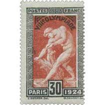 VIIIe OLYMPIADE - PARIS 1924