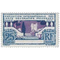 EXPOSITION INTERNATIONALE DES ARTS DÉCORATIFS MODERNES PARIS - 1925