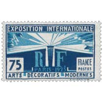 EXPOSITION INTERNATIONALE PARIS-1925 ARTS DÉCORATIFS MODERNES
