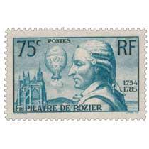 FR. PILÂTRE DE ROZIER 1754-1785