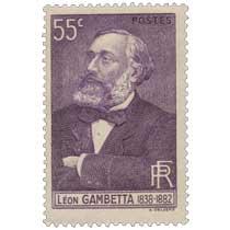 LÉON GAMBETTA 1838-1882