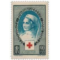 75ème ANNIVERSAIRE - FONDATION DE LA CROIX-ROUGE 1864-1939