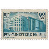 POUR LES ORPHELINS DES PTT 1939. MINISTÈRE DES P.T.T.