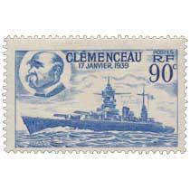 CLÉMENCEAU 17 JANVIER 1939
