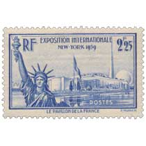 EXPOSITION INTERNATIONALE NEW-YORK 1939 LE PAVILLON DE LA FRANCE