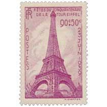 FÊTES DU CINQUANTENAIRE DE LA TOUR EIFFEL 23 JUIN 1939