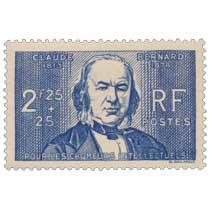 POUR LES CHÔMEURS INTELLECTUELS CLAUDE BERNARD 1813-1878