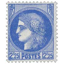 Sans légende particulière - type Cérès de 1938