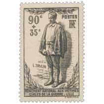 L. TRULIN MONUMENT NATIONAL AUX VICTIMES CIVILES DE LA GUERRE - LILLE