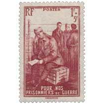 POUR NOS PRISONNIERS de GUERRE