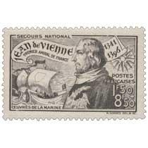 SECOURS NATIONAL Jean de Vienne 1341-1396 PREMIER AMIRAL DE FRANCE ŒUVRES DE LA MARINE
