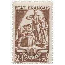 ÉTAT FRANÇAIS FAMILLE