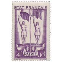ÉTAT FRANÇAIS PATRIE