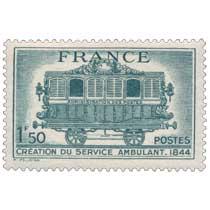 CRÉATION DU SERVICE AMBULANT 1844