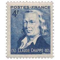 CLAUDE CHAPPE 1763-1805