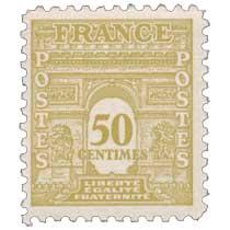 LIBERTÉ ÉGALITÉ FRATERNITÉ - type arc de Triomphe
