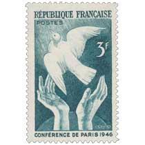 CONFÉRENCE DE PARIS 1946