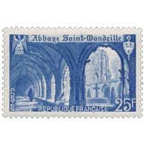 1949 Abbaye Saint-Wandrille