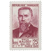 ÉMILE BAUDOT 1845-1903 C.I.T.T PARIS 1949