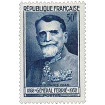 C.I.T.T PARIS 1949 GÉNÉRAL FERRIÉ 1868-1932