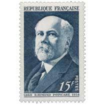 RAYMOND POINCARÉ 1860-1934