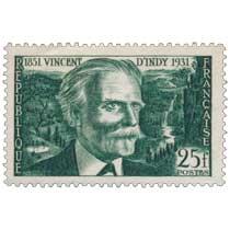 VINCENT D'INDY 1851-1931
