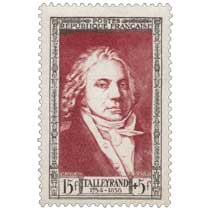 TALLEYRAND 1754-1838
